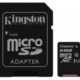 Secure digital card micro 64G Kingston